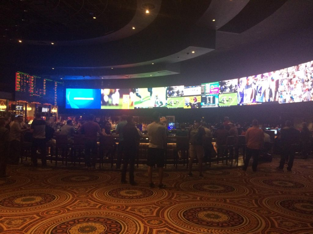 Renovated Caesar's Palace Sportsbook
