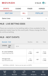 Bovada Sportsbook Review 2018 - DRatings com