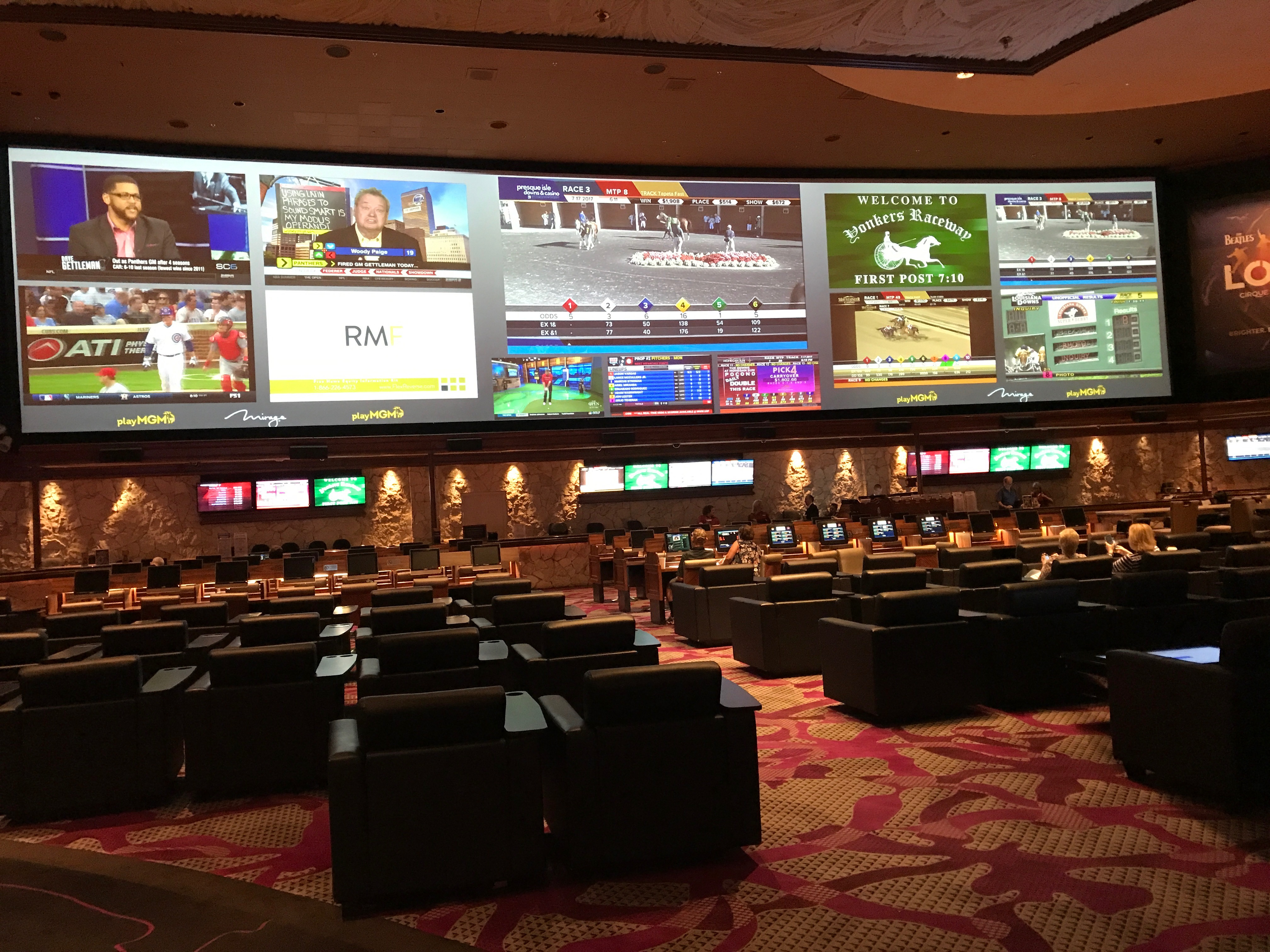 mgm mirage sports betting odds