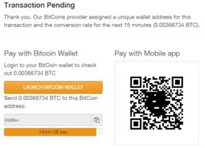 Youwager Bitcoin Deposit