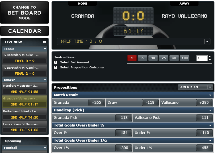 Bodog live betting ipad money on sports betting